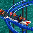 Great White Shark Ride RCT2 Icon