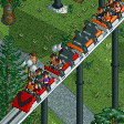 Looping Roller Coaster (reversed) Custom Icon