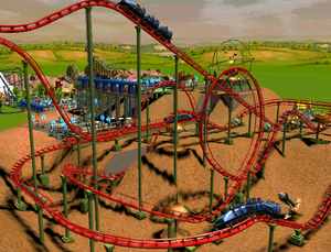 Looping Roller Coaster RCT3