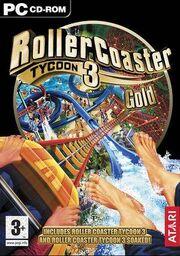 RCT3 Gold UK box art