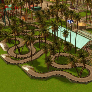 Go-Karts in RCT3