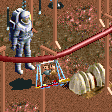 Hoverboard Coaster RCT2 Icon