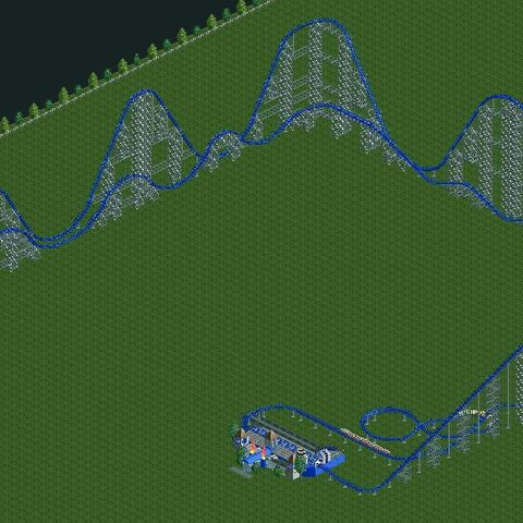 A large Hypercoaster in RCT2