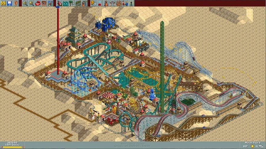 Utopia Park/Scenario Guide | RollerCoaster Tycoon | FANDOM