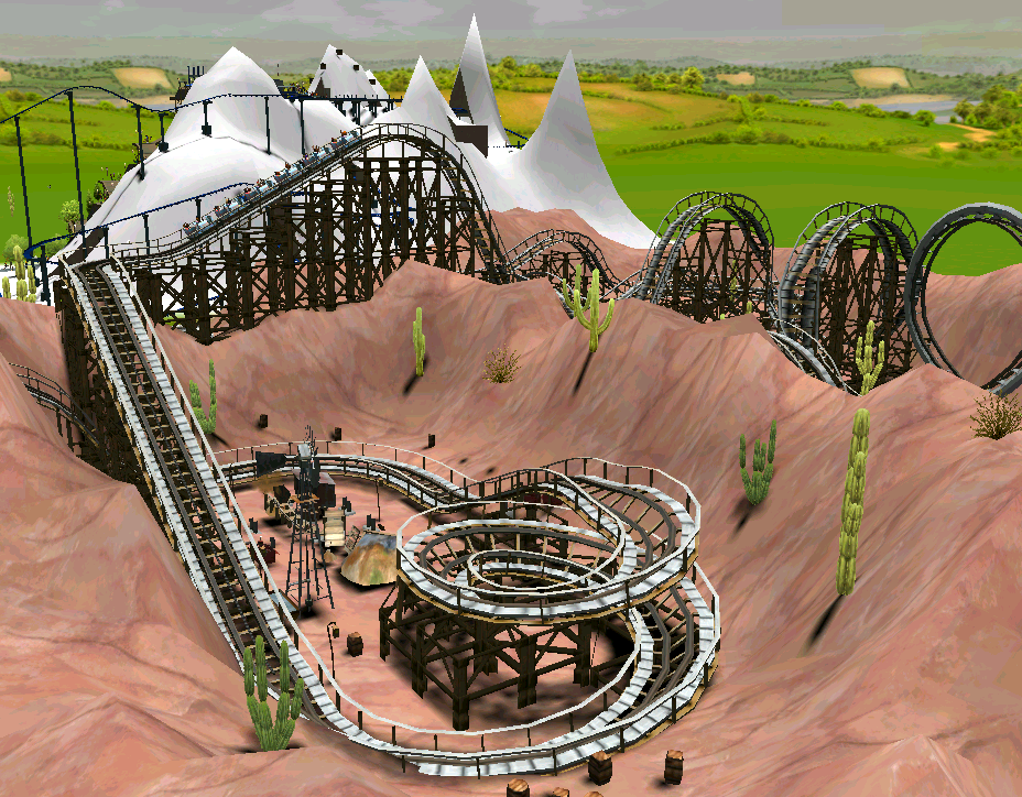 Category:Roller Coasters | RollerCoaster Tycoon | FANDOM