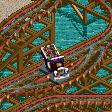 Police Car Coaster RCT2 Icon