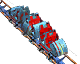 Rotating Tower Coaster RCT3 Icon