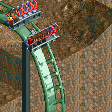 Vertical Drop Roller Coaster RCT2 Icon