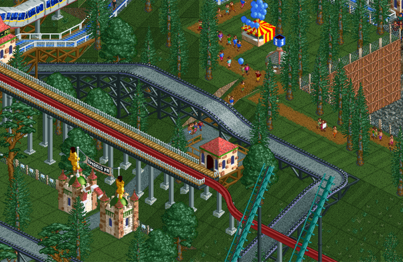 Megaworld Park | RollerCoaster Tycoon | FANDOM powered by Wikia