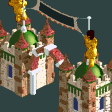Traditional Park Entrance RCT2 Icon
