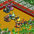 Chinese Dragonhead Ride RCT2 Icon