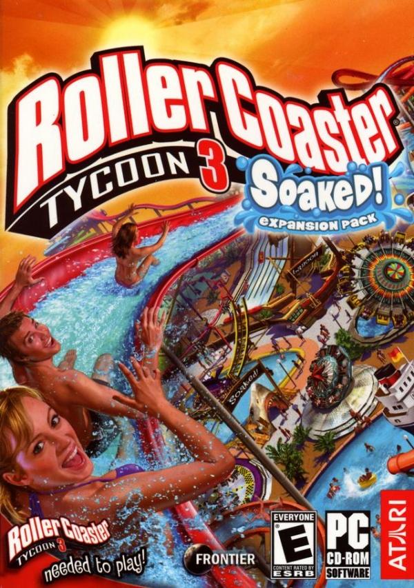 Soaked! | RollerCoaster Tycoon | FANDOM powered by Wikia