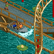 Water Coaster RCT2 Icon