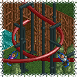 Mini Suspended Coaster RCT1 Icon