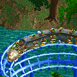 Conga Eel Coaster RCT2 Icon
