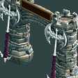 Dark Age Entrance RCT2 Icon