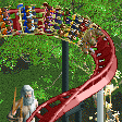 Cerberus Coaster RCT2 Icon