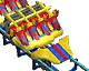 Lay Down Roller Coaster RCT3 Icon