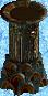 Drab Small Tower Minaret Base