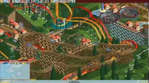 Roller Coaster Tycoon Three Monkeys Park Timelapse-0