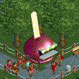 Toffee Apple Stall RCT2 Icon