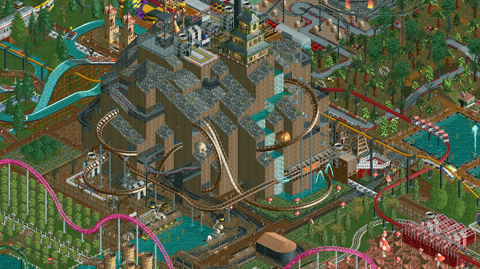 Tycoon Park | RollerCoaster Tycoon | FANDOM powered by Wikia