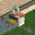 Doughnut Shop RCT2 Icon