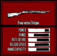 Rdr weapon pump-action shotgun