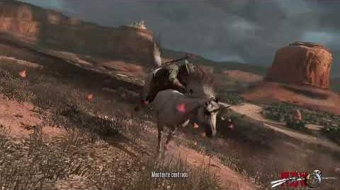 RDR Undead Nightmare domando al unicornio