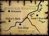 Lugares de Red Dead Revolver