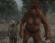 Bigfoot hembra junto a John