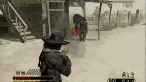 Fea pelea callejera cazarrecompensas Red Dead Revolver