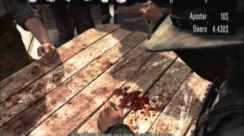Red Dead Wiki en Español Juego del cuchillo