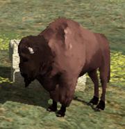 Bisonte en red dead revolver