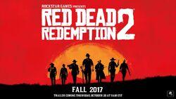 Anuncio Red Dead Redemption 2