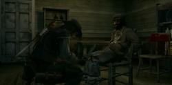 John rescata a Shaky
