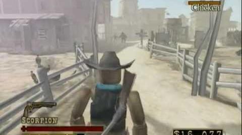 Fea pelea callejera Red Wood Revolver