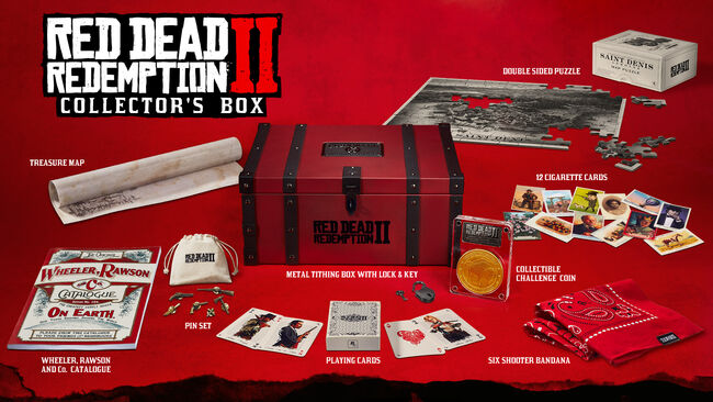 Red Dead Redemption II Collector's Box