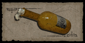 Fondo botella incendiaria