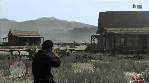 Red Dead Redemption guarida de banda Venter's Place