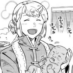Seiji taking care of the newborns