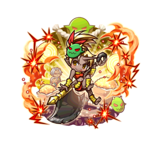 Auro 【Red Demon Princess】 as an Ogre Mixblood