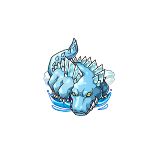 A Crystal Crocodile in the mobile game