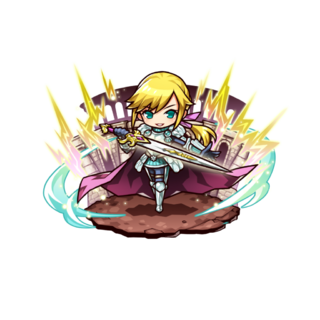 Artunel (Hero of Roaring Thunder) during the Tournament of Heroes