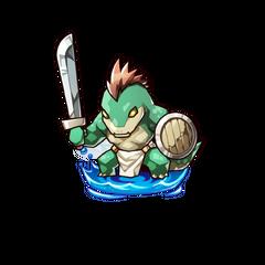 A Green Lizard