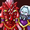 Icon 0311 CrimsonHornedScaledHorse