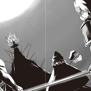 Facing Ovarou with the Hermit and the Hero of Light