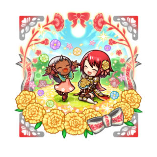 Opushii & Rubellia 【I Love You Mama】 with the title of Red Deadly Fury