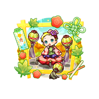 Nicola (Playing Ball Baby) in the mobile game