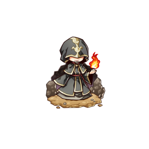 Lord Wasiury as a Wizard in the mobile game